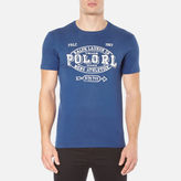 Polo Ralph Lauren Men's Short Sleeve Crew Neck Printed TShirt - Club Royal