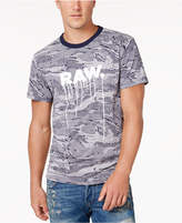 G Star Men's Graphic Print Camo T-Shirt