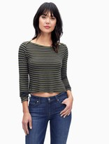 Splendid French Stripe Long Sleeve Top