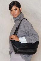 Calvin Klein Jillian Lux Medium Shoulder Bag