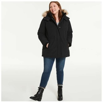 Joe Fresh Women+ Parka with PrimaLoft, JF Black (Size 1X)