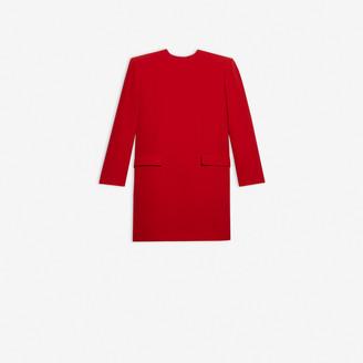 Balenciaga Campaign Crewneck Dress