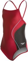 Speedo PowerFLEX Eco Revolve Splice Energy Back Youth Swimsuit 8133862