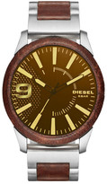 Diesel Men's Rasp Two-Tone Bracelet Watch