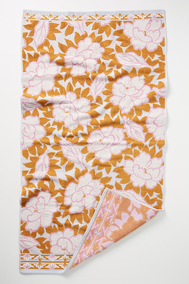 Anthropologie Mandy Towel Collection By in Pink Size BATH TOWEL