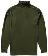 Roundtree & Yorke Silky Finish Long Sleeve Solid Turtleneck