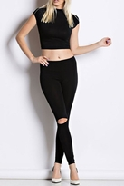 Hot & Delicious Mid Waist Leggings