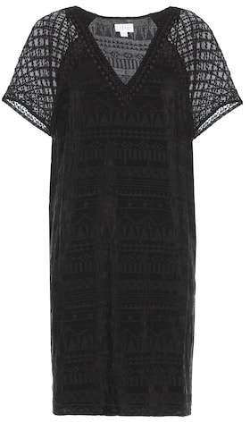 Velvet Halo embroidered dress
