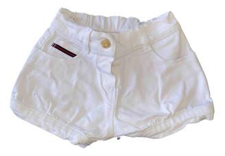 Gucci White Denim - Jeans Shorts