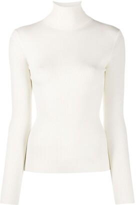 Roberto Collina Long Sleeved Roll-Neck Top