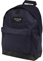 Nicce Mens Jondal Backpack Navy