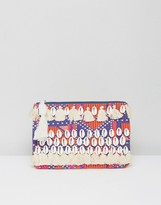 Glamorous Shell and Tassel Clutch Bag