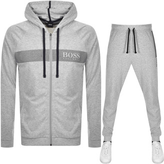 Boss Business BOSS Bodywear Lounge Logo Tracksuit Grey