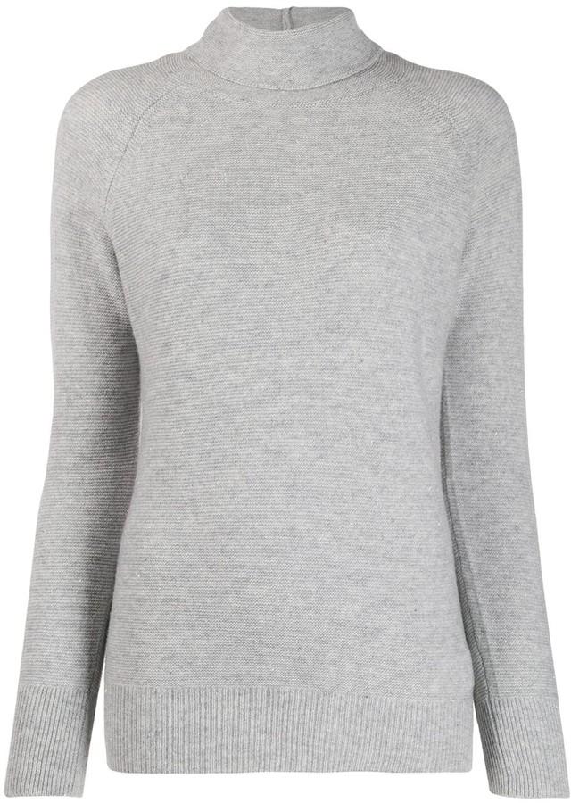 Fabiana Filippi turtle-neck fitted sweater