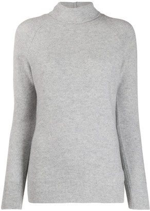 Fabiana Filippi turtle-neck fitted sweater
