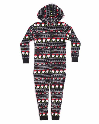 Joe Boxer Big Girl's Ho Onesie Sleepwear