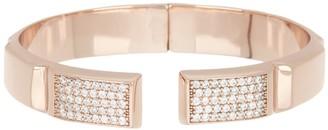 Melinda Maria Sam Pave CZ Cuff Bracelet