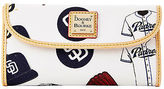 Dooney & Bourke MLB Padres Continental Clutch