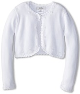 Us Angels Beaded Cotton Sweater (Little Kids/Big Kids)