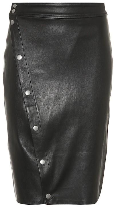 c358b5aee Rag And Bone Leather Skirt - ShopStyle