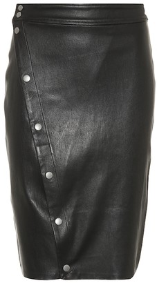 Rag & Bone Baha leather skirt