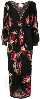 Camilla Twist Front Midi Dress