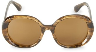 Oliver Peoples Leidy 56MM Round Sunglasses