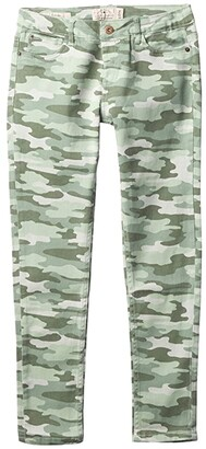 Lucky Brand Kids Camo Print Pull-On Jeggings (Big Kids) (Green Bay) Girl's Jeans