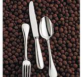 Christofle Perles Silverplate Serving Fork