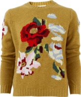 Allude Floral Print Pullover