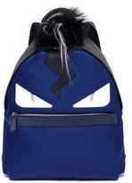 Fendi Monster Fox, Kidassia & Calf Leather Backpack