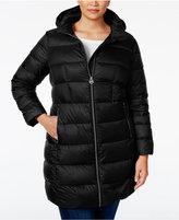 MICHAEL Michael Kors Size Hooded Packable Down Puffer Coat