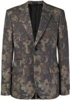 Stella McCartney mixed-print blazer