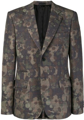 Stella McCartney Mixed-Print Blazer
