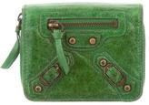 Balenciaga Motocross Classic Compact Wallet