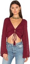 Winston White Bianca Top in Wine. - size XS (also in )