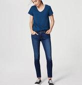 LOFT Modern Skinny Jeans in Dark Indigo Wash