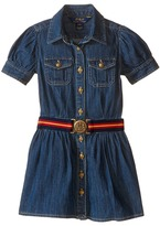 Polo Ralph Lauren Denim Shirtdress (Toddler)