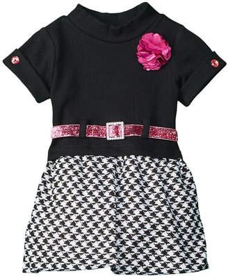 Nannette Nanette Houndstooth Collar Dress