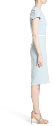 Max Mara Women's Teorema Belted Sheath Dress