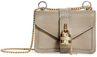 Chloé Mini Leather Aby Chain Shoulder Bag