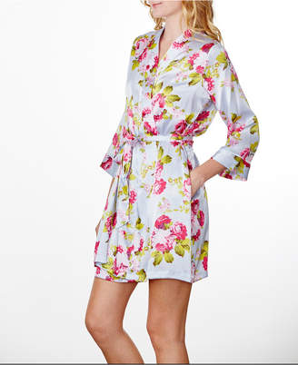 Wedding Prep Gals Plus Size Floral Robe, Online Only