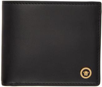 Versace Black Icon Bifold Wallet
