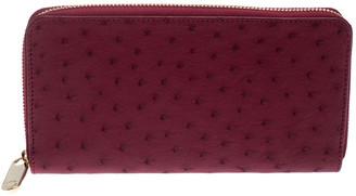 Louis Vuitton Jaipur Ostrich Leather Neo Zippy Wallet