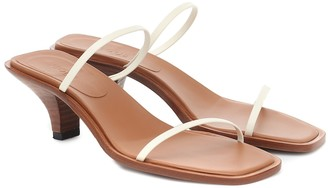 Neous Vulpe leather sandals