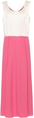 Marni Sleeveless crApe dress