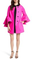 Milly Women's Melton Bonded Coat
