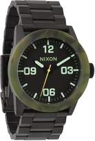 Nixon Men's Private Ss Watch in Color: Matte Black / Camo