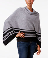 Charter Club Cashmere Striped Poncho, Only at Macy's