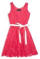 Un Deux Trois Little Girl's & Girl's Lace Dress